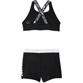 Nike Swim JDI Crossback Sport Bikini Set Meisjes, zwart